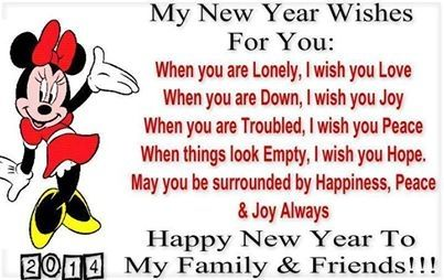 happy new year to my family and friends vickie quotessayings pinterest new year wishes happy and happy new year greetings