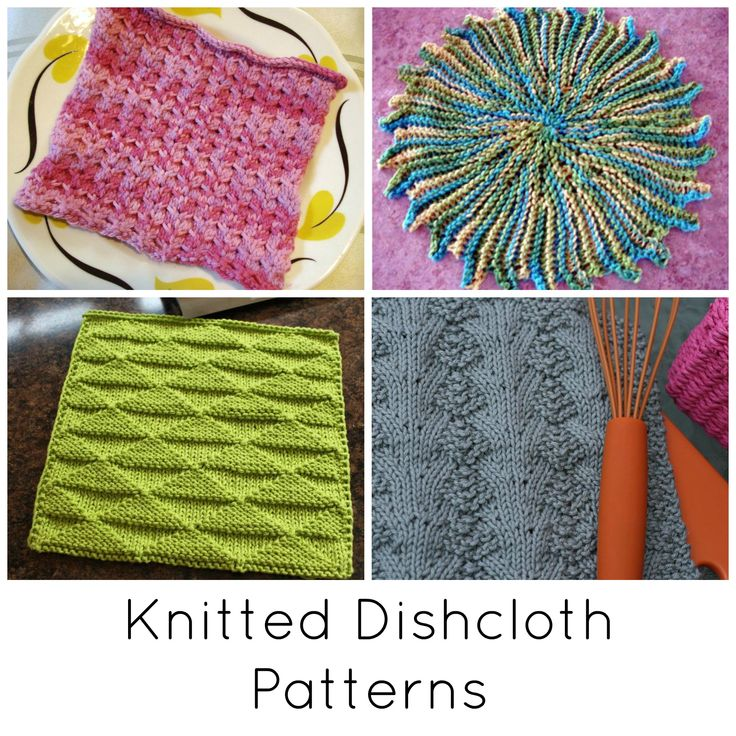 Small and quick, knitted dishcloth patterns are great for last-minute gifts and for practicing new knitting techniques. Get our top 10 dishcloth patterns!