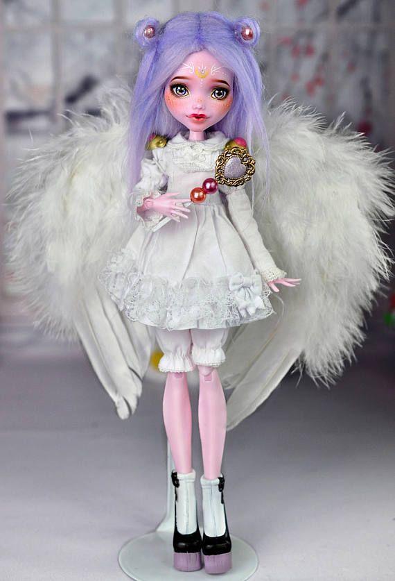 OOAK Monster High doll Princess Luna Magical girl by Nekomuchuu