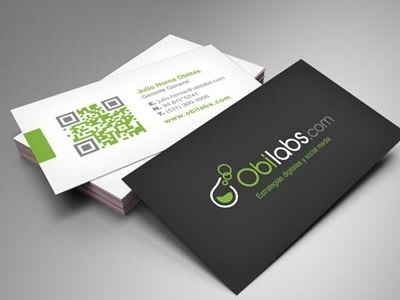 Business Cards -color in QR code