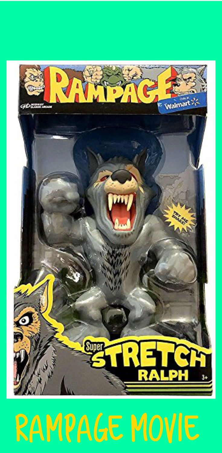 Rampage Exclusive Super Stretch Ralph From The Classic Midway