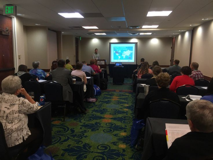 Project Manager, Jordan Jensen, from SFF Alberta presenting at the ISASH Conference in Lexington, Kentucky June 26-30/2016