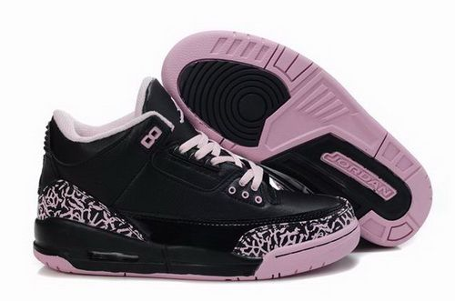 info for 5a3e7 e53ca Buy New Black Pink Women Air Jordan 3 Fashion Shoes Shop