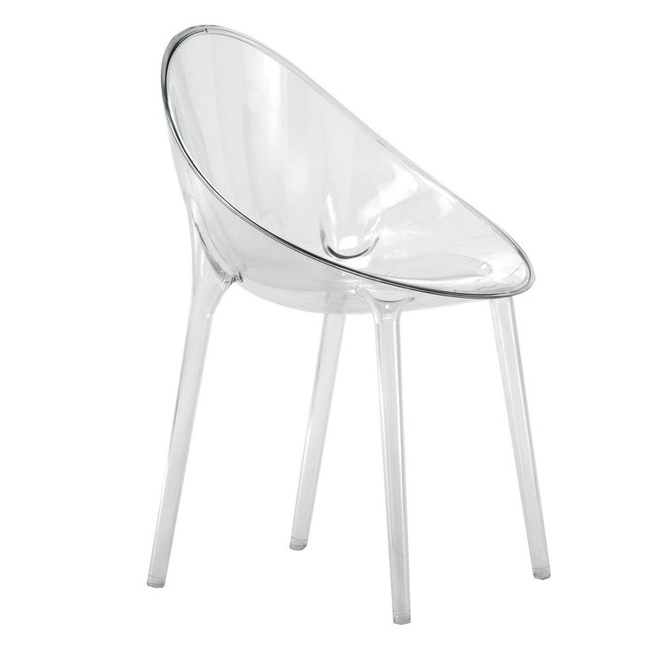 Sedia KARTELL MR. IMPOSSIBLE cristallo trasparente
