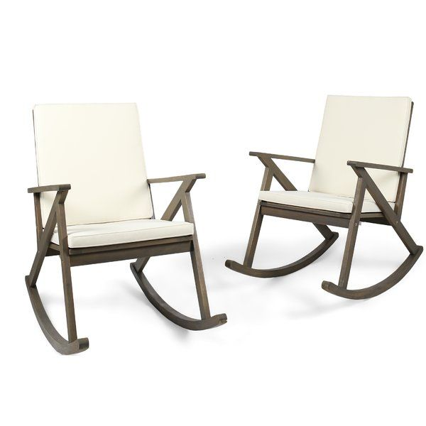 official photos 35162 fb8f9 Ossu Outdoor Rocking Chair with Cushions | New deck ...