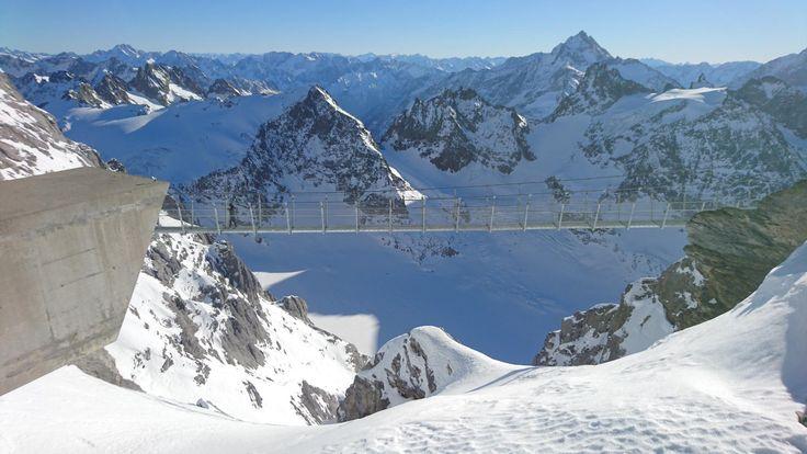 **Titlis Bridge (suspension bridge) - Engelberg, Switzerland