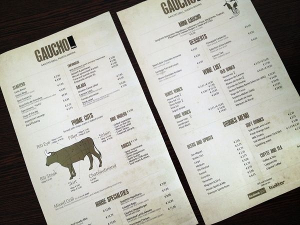 Gaucho Grill on Behance