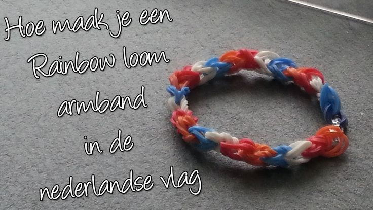 Diy Maak een Nederlandse Vlag Regenboog Loom!