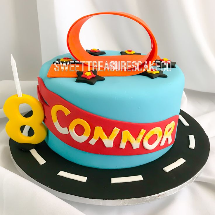 Connor celebrated his birthday with this hot wheels car cake ... vroom vroom. #connor #hotwheels #carcake #cake #birthday #celebrations #celebrationcakes #8yearsold #sweettreasures #sweettreasurescakeco #johannesburg #southafrica