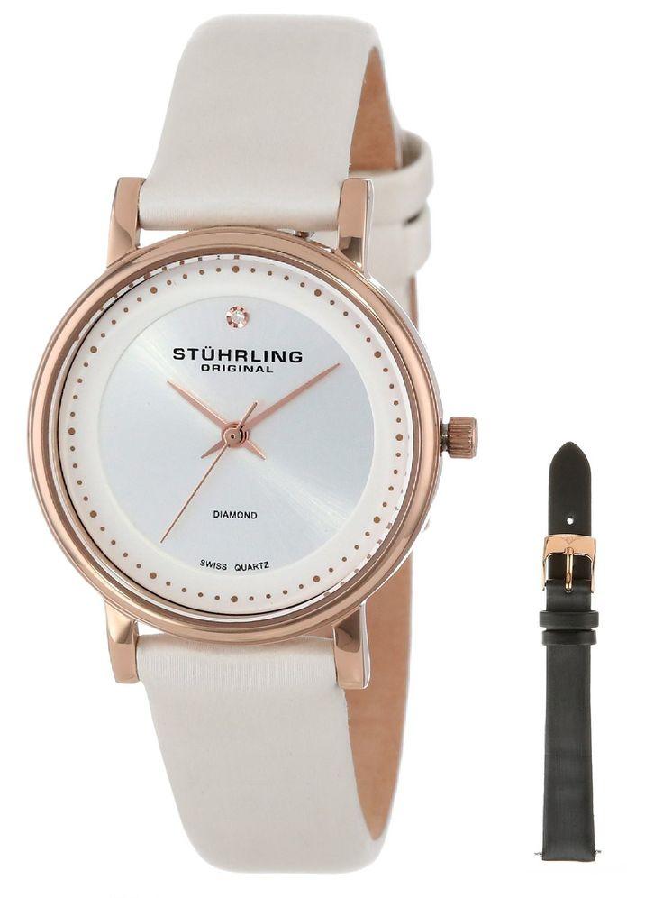 Reloj Stuhrling Original Quot Elite de Cuarzo suizo | Antes: $975,000.00, HOY: $266,000.00