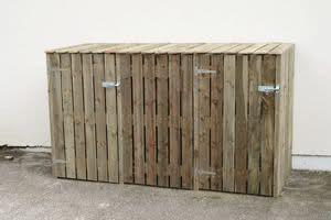 How to hide/store wheelie bins in a tiny courtyard garden? - MoneySavingExpert.com Forums