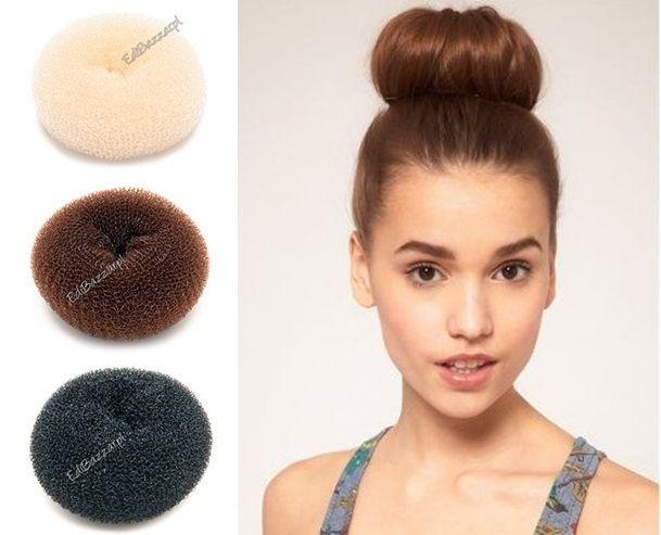 Wypełniacz do upięcia KOKA włosów spinka gumka 3 kolory EdiBazzar