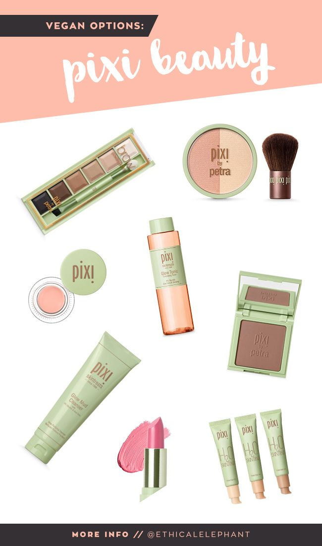 List of Pixi Vegan Products   No animal testing & ingredients [www.ethicalelephant.com]