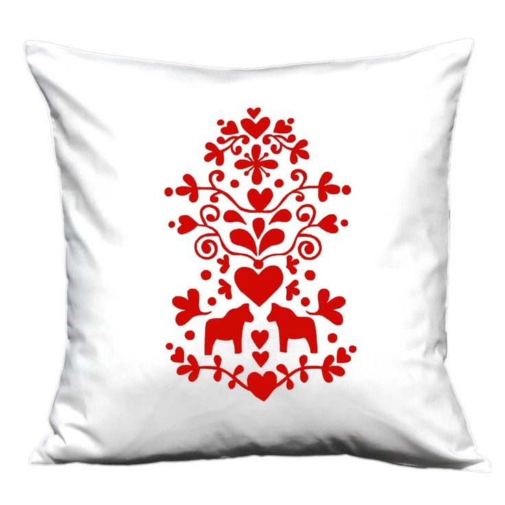 Scandinavian Christmas Pillow : Swedish Christmas cushion Love these pillows! Would look nice on gray couch w/red