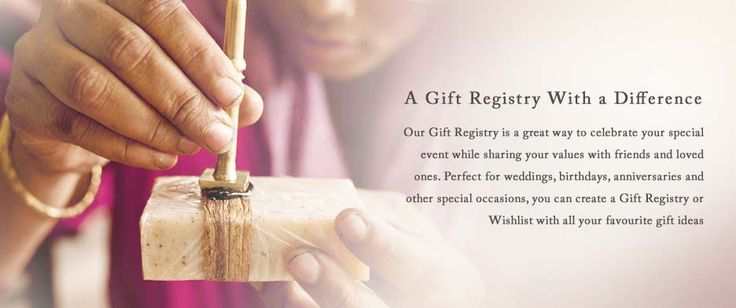 Did you know Ten Thousand Villages has a gift registry?! Access it from anywhere in the world and ship to anywhere in Canada! Planning a wedding or celebration? Sign up and fill your home with Fair Trade gifts that make a difference!