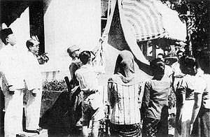 Indonesian proclamation of freedom, august 17th, 1945.: