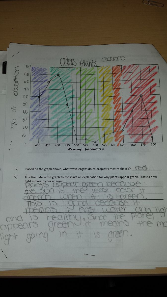 ... instead of a paper and pencil test, students would complete tasks modeled off the Next Generation Science Standards sample tasks. The goal was for the final to reflect students' ability to do science rather than their ability to memorize facts and by using their science knowledge in various ways improve their understanding and retention of the facts.