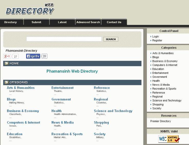 Phamansinh Web Directory http://www.phamansinh.com/