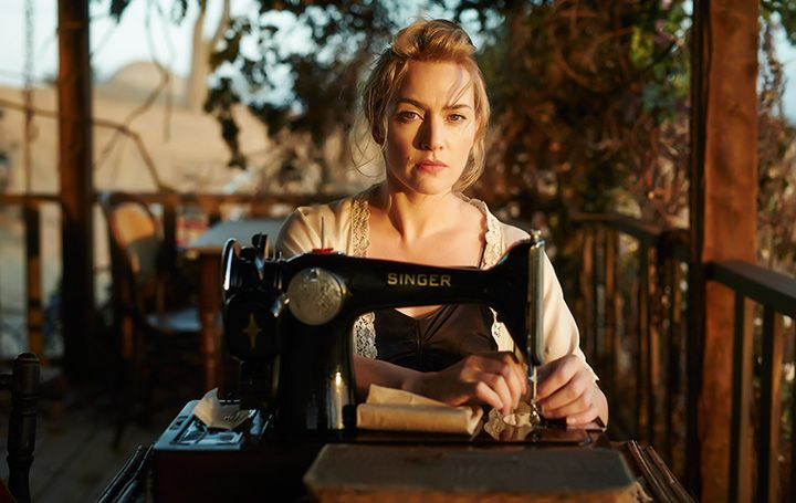 "A scene from the new Kate Winslet movie ""The Dressmaker""."