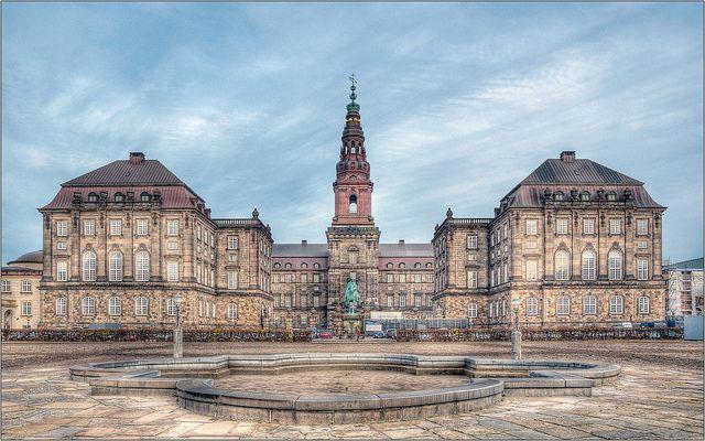 Christiansborg Castle, Copenhagen, Denmark