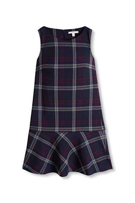 ESPRIT 106EE1E019, Vestito Donna, Multicolore (Navy), 40: Amazon.it: Abbigliamento