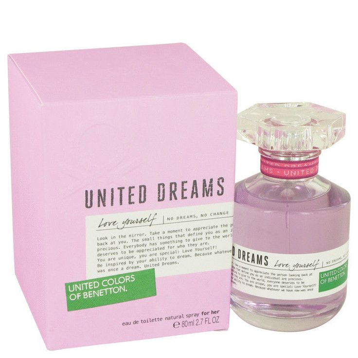 United Dreams Love Yourself Perfume By BENETTON FOR WOMEN