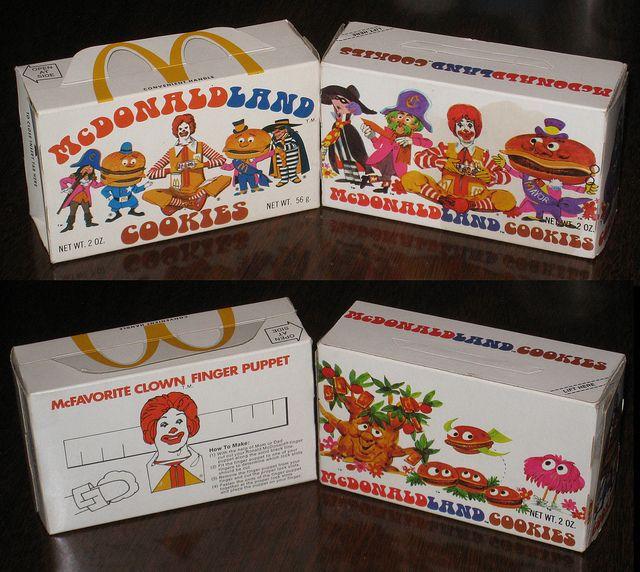 McDonald's Cookies  Bring them baaaaaaaack!