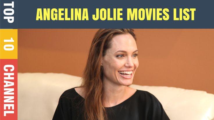 Angelina Jolie Movies List | Top 10 Angelina Jolie movies | Angelina Jolie Biography. #angelina #movies #top10