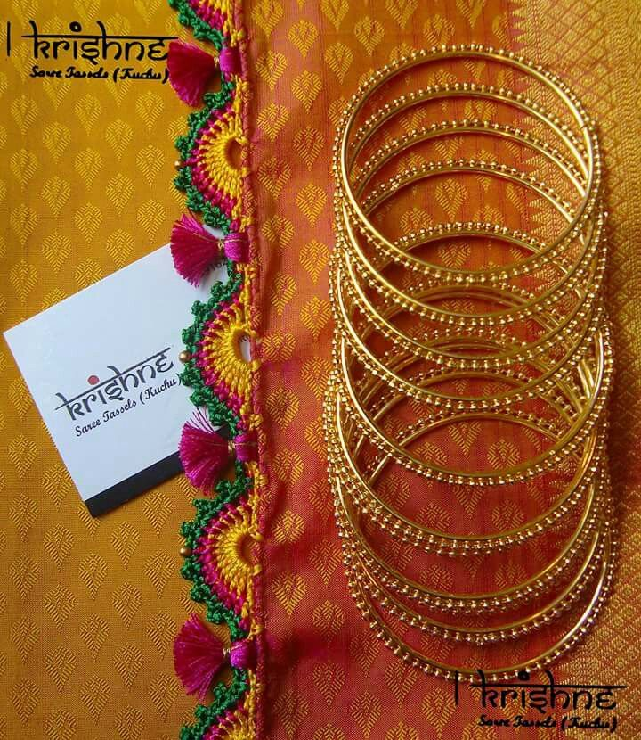 Crochet Lace Patterns For Sarees : 246 best images about Saree tassels on Pinterest Lace ...