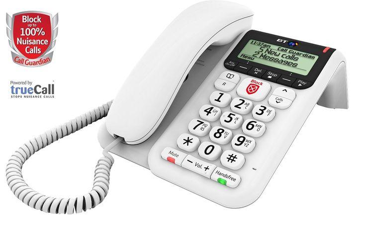 Bt Decor 2600 Corded Phone With Advanced Call Blocker