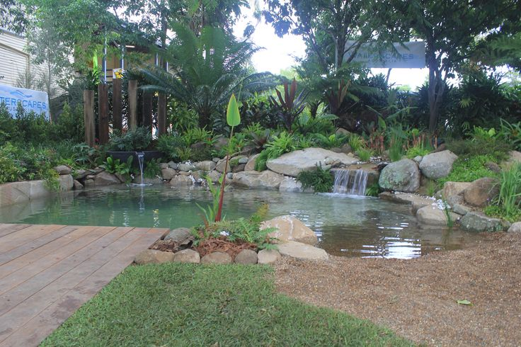 Display garden at Qld Garden Expo, July 10 2015