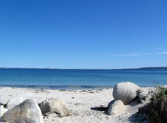 I miss the ocean back home... this is a picture of Hubbards Beach in Nova Scoita