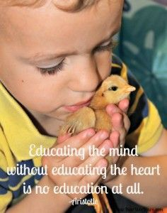 10 quotes about nature and kindness for kids. Love this blog for it's focus on play for preschoolers.