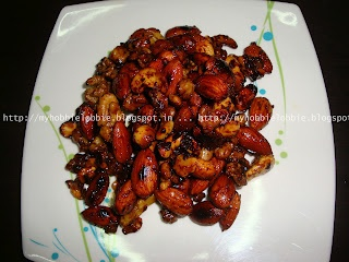 Week 1 of 12 Weeks of Christmas Treats: Candied Spiced Nuts