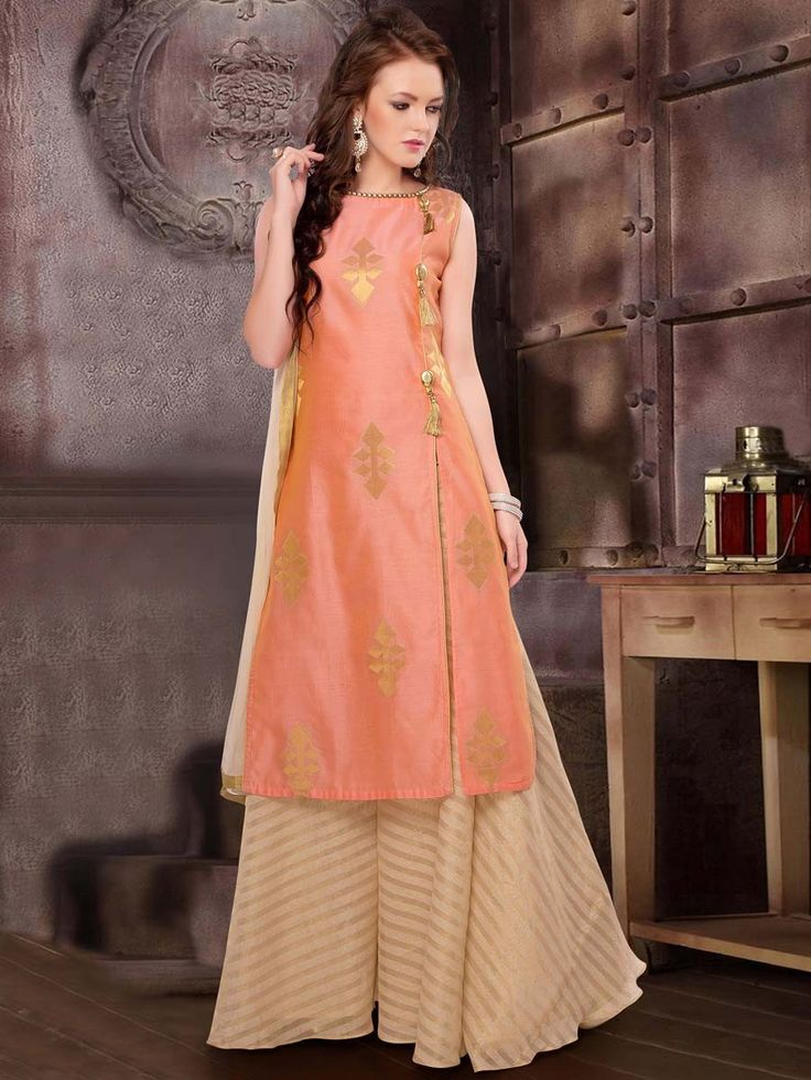 Prettify yourself with this untold beauty. Item code: SLUM01 http://www.bharatplaza.com/women/readymade-suits.html.