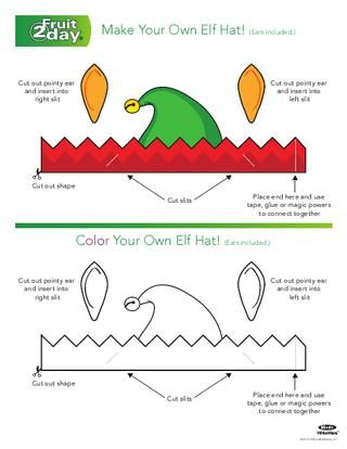 Elf Hat (Click Here to Print)