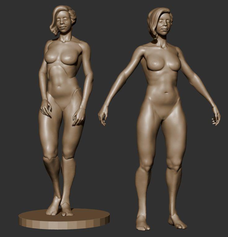 ArtStation - 3D Sketch , Bel Maciel