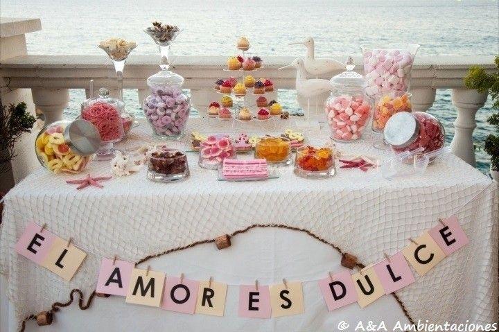 Incorporá letras en la decoración de tu casamiento