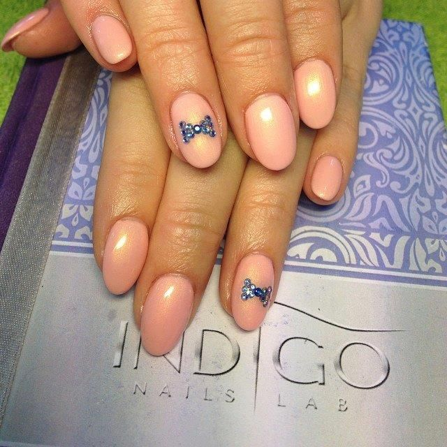 by Mezei Edina, Hungary, Find more Inspiration at www.indigo-nails.com #nails #nailsart #nude