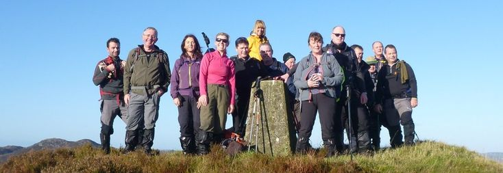 Gap o' the North Hill Walking Club - Hilltops, Heritage & History
