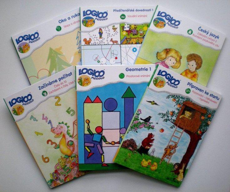 LOGICO PICCOLO | Balíčky Logico Piccolo | Balíček Předškoláček | Didaktické pomůcky a hračky - AMOSEK
