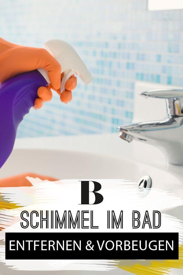 Schimmel im Bad - entfernen und vorbeugen | Haushalt ...