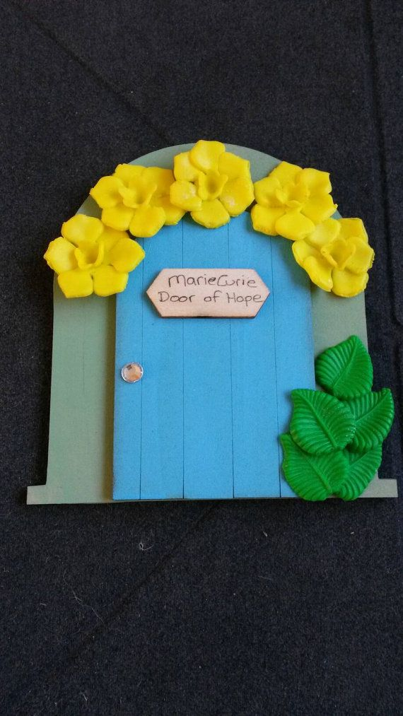 Marie curie cancer care fairy door fairy by magikallittlethings