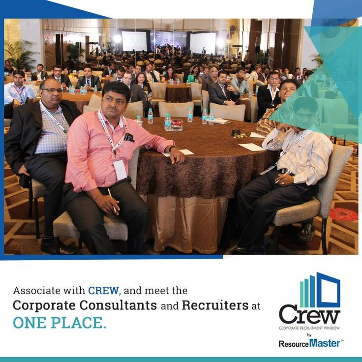 Associate with CREW, and meet the #CorporateConsultants and #Recruiters at One Place. For more info visit : http://www.crew2015.com/aboutcrew.php