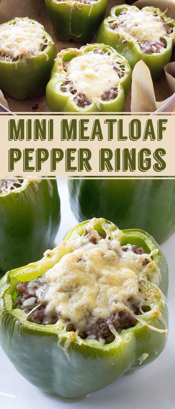 Mini Meatloaf Pepper Rings Calories