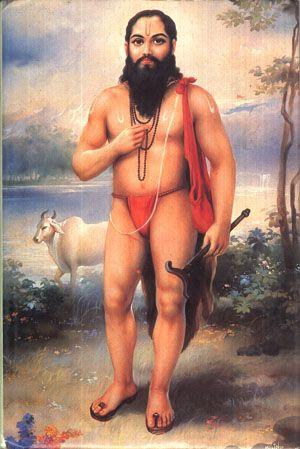 Samarth Ramdas Swami, 17th century saint and spiritual poet of Maharashtra. Guru of Shivaji Maharaj.