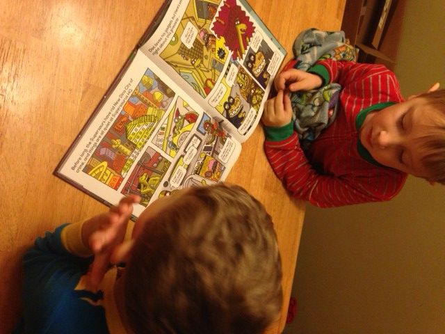 """With two boys, we talk often about superheroes, saving the day and comic books. So when Parragon Books delivered Dino Supersaurus – T-Rex Terror, the boys were ECSTATIC!""  Check out US #BookBuddy The Peanuts Gang​'s #review of our new #DinoSupersaurus book!"