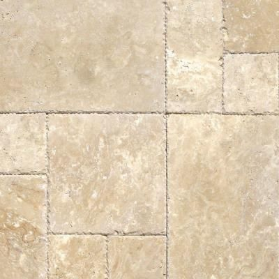 MS International Tuscany Beige Pattern Honed Unfilled Chipped Travertine  Floor And Wall Tile (5 Kits / 80 Sq. Ft. / Pallet)