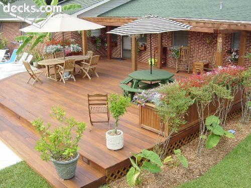 53 Best Decks Images On Pinterest Backyard Decks Deck