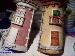 Resultado de imagem para tejas decoradas con pasta de modelar paso a paso